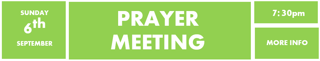 6th September - Prayer meeting